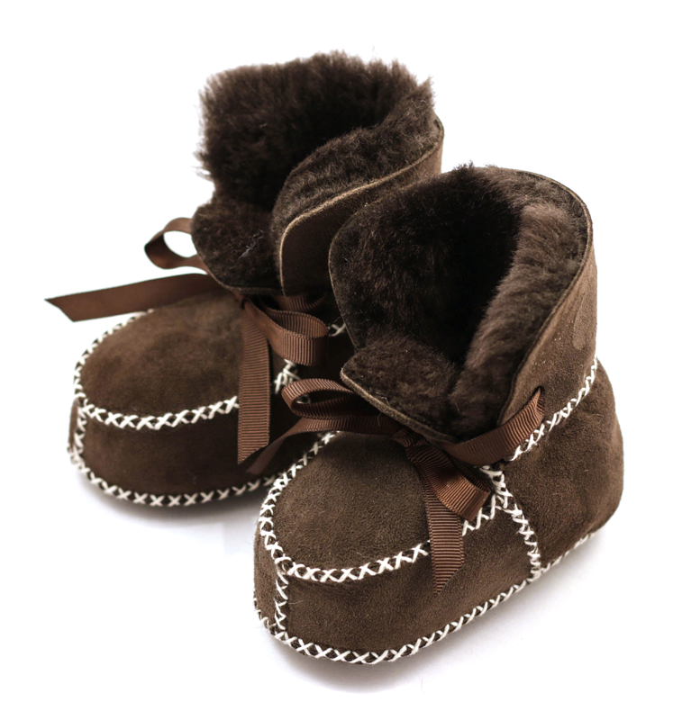 Shearling Boots Brown