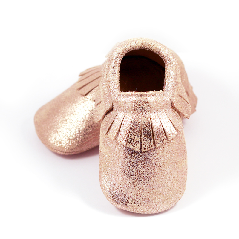 Moccasin Art Rose Gold